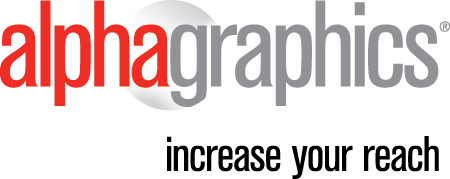 Alphagraphics Logo | Content Writer Tom Brooks